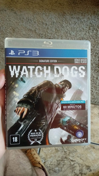 Watch Dogs - Midia Fisica Para Ps3 Original
