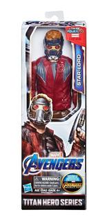 Muñeco Star Lord Avengers Endgame 30cm Titan Hero Hasbro