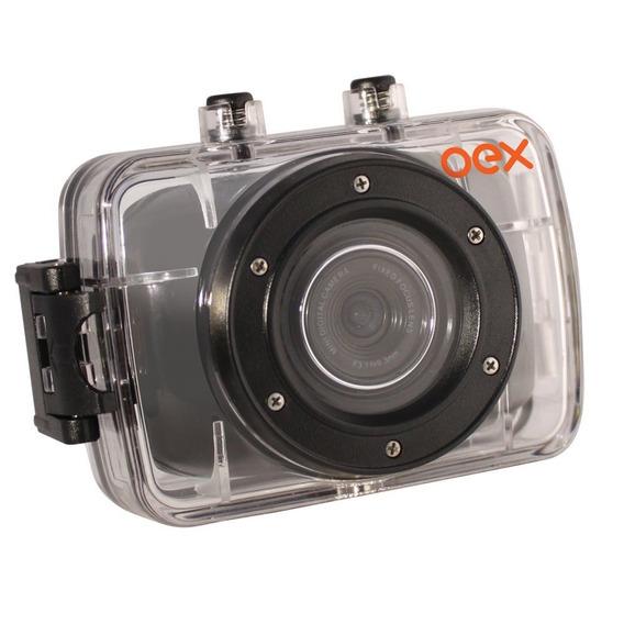 Filmadora Sport Oex Cm-100 À Prova D