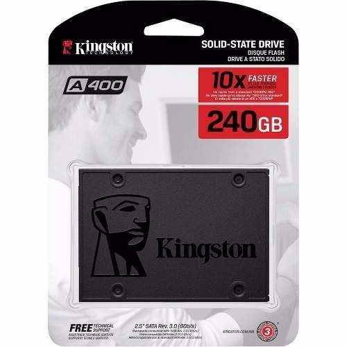 Disco Solido Kingston 240gb Ssd A400 2,5 Sata Santa Fe