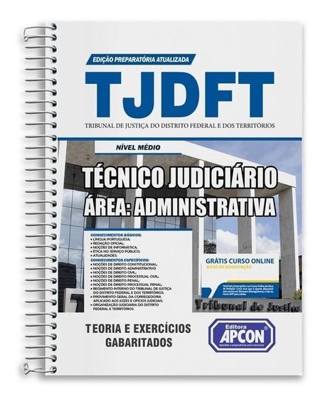 Apostila Tjdft - Técnico Judiciário - Área Administrativa