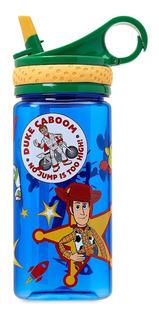 Botella Vaso Agua Con Sorbete Disney Store Original
