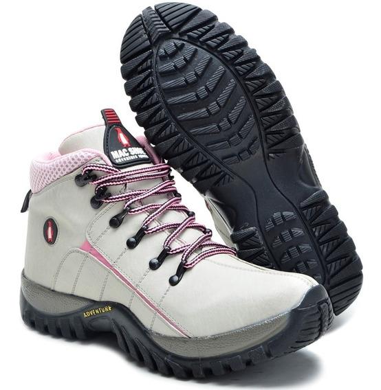 Bota Adventure Fem Infantil Mac Shoe Tenis Boot Trilha Masc.