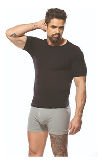 Camiseta Termica Hombre Microfibra Manga Corta Dufour 11926
