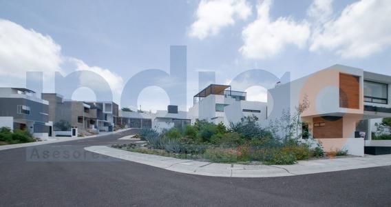 Terreno Plano Y En Esquina En Venta En Zibata En Condominio Ceiba 1