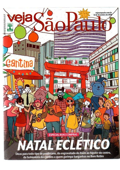 Kit 8 Veja São Paulo Temas Diversos Ano 2018