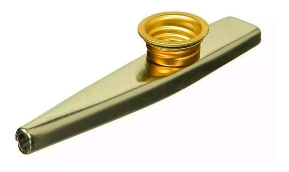 Kazoo De Metal Stagg Dorado Facil De Tocar Precio Por Unidad