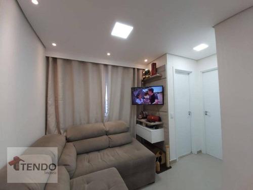 Imagem 1 de 30 de Imob01 - Apartamento 44 M² - Venda - 2 Dormitórios - Paulicéia - São Bernardo Do Campo/sp - Ap2186