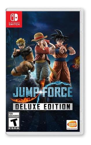 Imagen 1 de 4 de Jump Force Deluxe Edition - Nintendo Switch