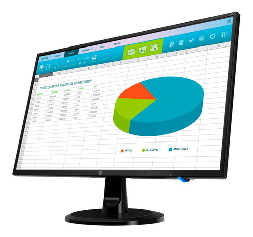 Monitor Led Hp 24 Pulgadas N246v Full Hd Ips Mexx