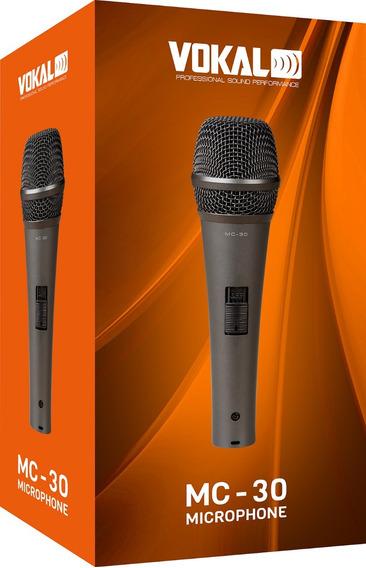 Microfone Profissional Igreja Karaôke Palestra Mc-30 Tipo Sm