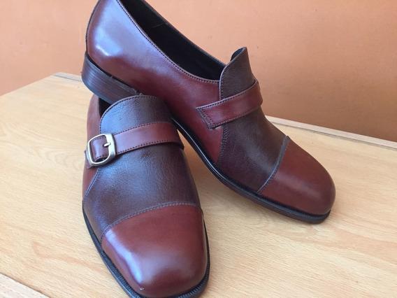 Zapatos De Hombre: Cuero, Suela,elegantes, Sin Cordones