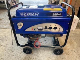 Grupo Electrógeno Lifan 5gf-4 Naftero 5500w Electrico