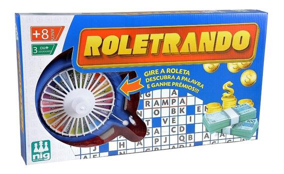 Jogo Infantil Roletrando Roda A Roda - Nig Brinquedos
