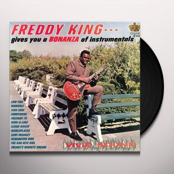 Lp Freddie King - Bonanza Of Instrumentals (180gr)
