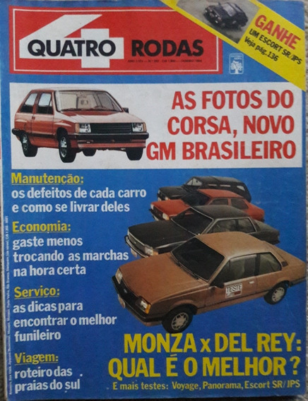 Quatro Rodas N° 282 Monza X Del Rey