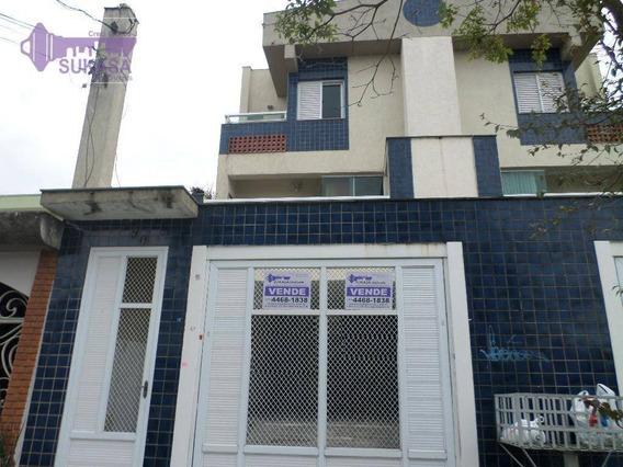Apartamento Duplex À Venda, 70 M² Por R$ 350.000,00 - Vila Pires - Santo André/sp - Ad0002