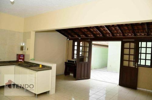Imagem 1 de 30 de Imob03 - Casa 3 Dormitórios - Venda - M²  Ribeirão Pires/sp - Ca0216