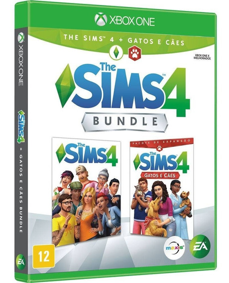 The Sims 4 Bundle Gatos E Cães Xbox One Mídia Física Lacrado
