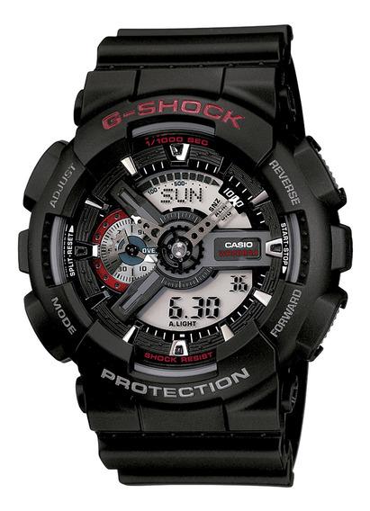 Relógio Casio Ga-110-1adr Masculino Preto - Refinado
