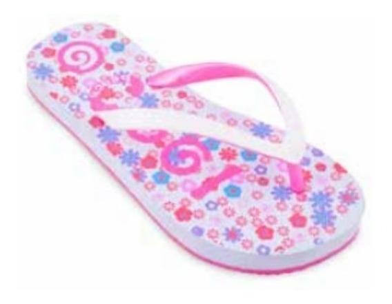 Ojotas Sandalias Niñas Nena Verano Pileta Cool Pink