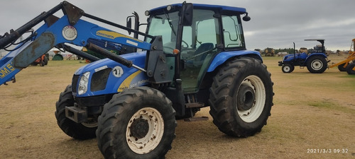 Tractor New Holland 5070 D-t,3 Puntos,año 12,con Pala Martin