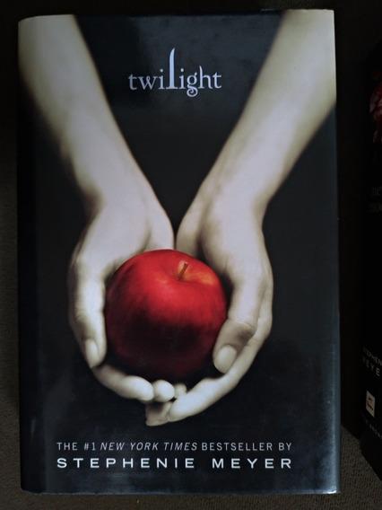 Kit Livros Saga Crepúsculo Importado (frete Grátis)