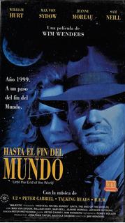 Hasta El Fin Del Mundo - U2 - Peter Gabriel, Talking H. Vhs