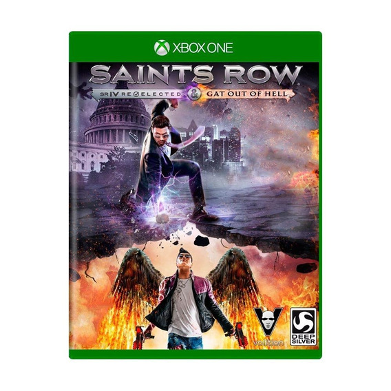 Saints Row Iv Reelected E Gat Out Of Hell Xbox One Física
