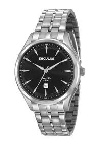 Relógio Seculus Masculino 23599gosvna1