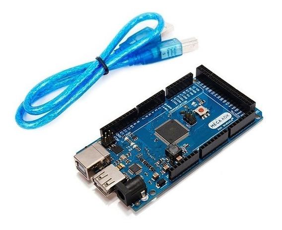 Arduíno Mega+ Vários Outros Componentes+cabo -ver Descrição