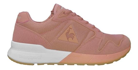 Zapatillas Le Coq Sportif Omega X Moda Lifestyle Mujer Rosa