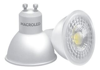 Dicroica Led 7w Macroled Pack X10 490lm Equivale 50w
