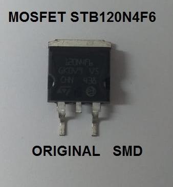 Mosfet Stb120n4f6 120n4f6 Smd Original