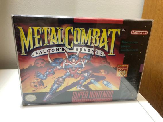 Jogo Metal Combat - Original Snes - Lacrado