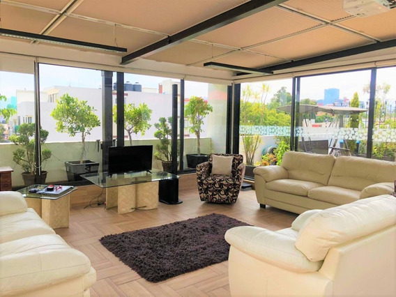 Hermoso Penth House Interior Con 125m De Roof Garden