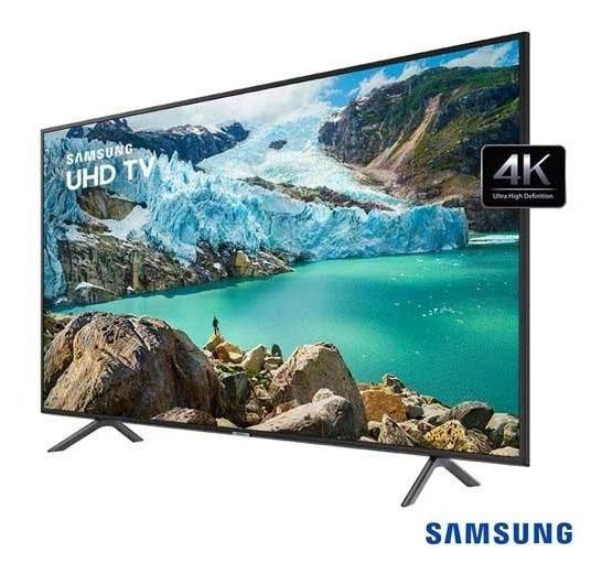 Smart Tv Samsung 4k 2019 Ru7100 75 Un75ru7100gxzd