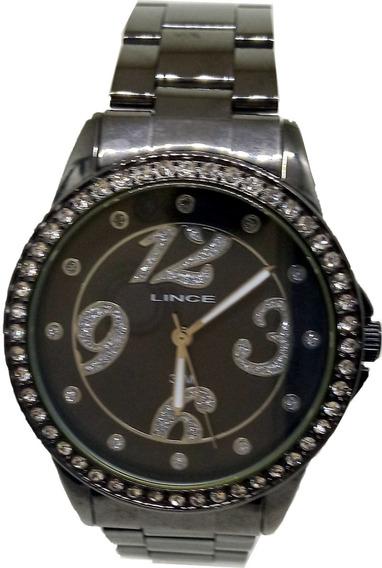 Relógio Lince Feminino Preto Original
