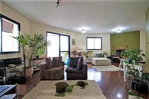 Apartamento Com 4 Dormitórios À Venda, 216 M² Por R$ 2.127.000,00 - Campo Belo - São Paulo/sp - Ap15659