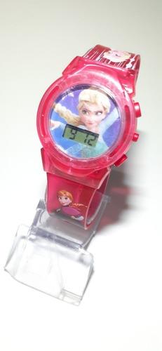 Relógio Infantil Frozen Com Luzes E Musica