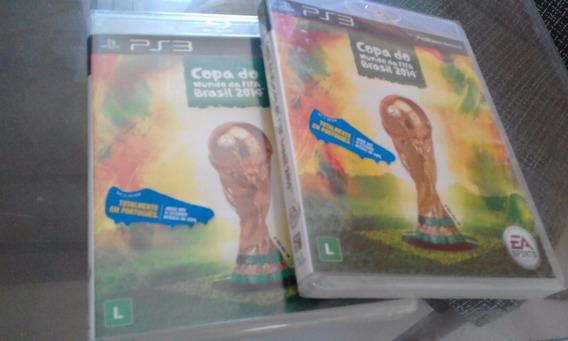 Copa Do Mundo Da Fifa Brasil 2014 Ps3 Novo Lacrado Mídia Fís
