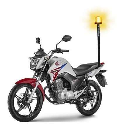 Sinalizador De Led Giroled Giroflex De Super Leds P/ Moto