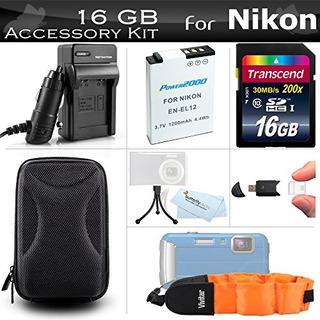 Kits De Accesorios,16gb Kit De Accesorios Para Nikon Coo..