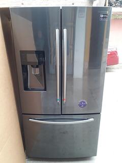 Samsung Refrigeradora No Frost 589l Rf263beaesg Negro
