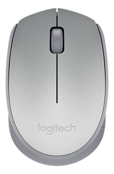 Mouse Logitech M170 prateado