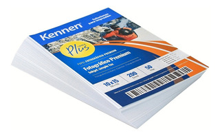 Papel Fotográfico Brillo Premium Kennen 10x15 200gr 1500hjs