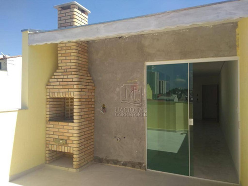 Imagem 1 de 30 de Cobertura Com 3 Dormitórios À Venda, 100 M² Por R$ 405.000,00 - Utinga - Santo André/sp - Co4012