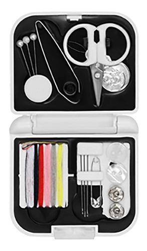 Imagen 1 de 9 de Mini Set Costura De Plástico Con Broche Y Acessorios Extra