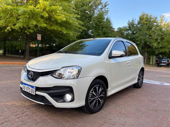 Toyota Etios 1.5 Platinum 4 P Manual 2017