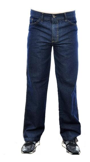 Calça Jeans Masculina Básica Tradicional Trabalho